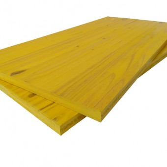 3-PLY YELLOW SHUTTERING PANEL